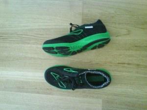 Brooks Green Silence  Miljøvennlige sko som matcher klubbtrøya, men som dessverre absolutt ikke passet mine føtter.