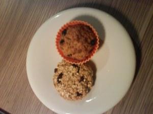 Havremuffins og cookie