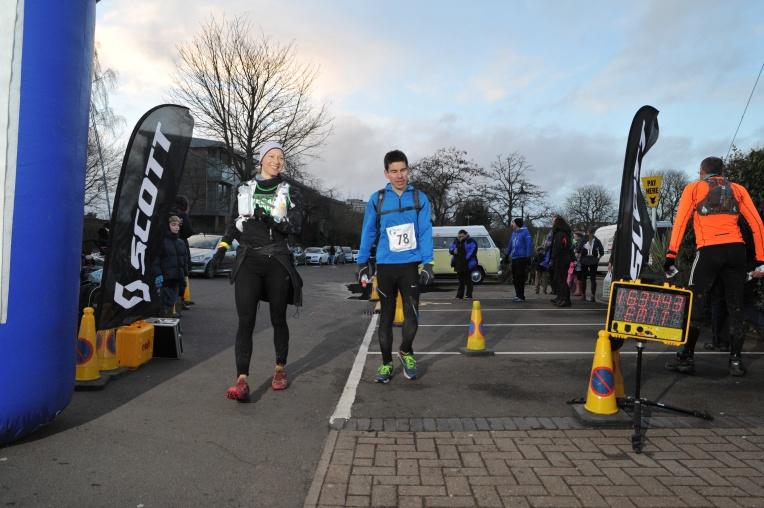 Merkelig, jeg husker definitivt at vi løp over mållinjen (foto: Tom Barnet/ wavephotography.co.uk