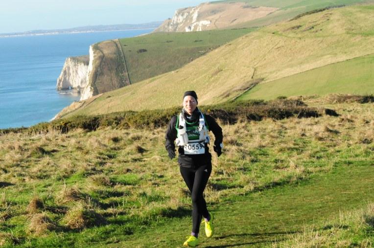 Hvis du tror England er flatt tar du feil. Totalt ble det 1200m stigning p denne halvmaratonen.